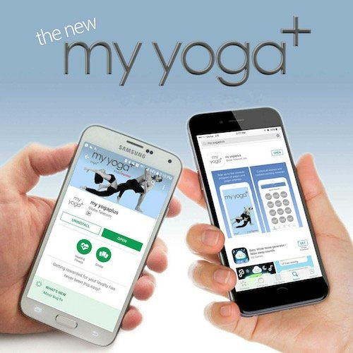 Download yoga+ App