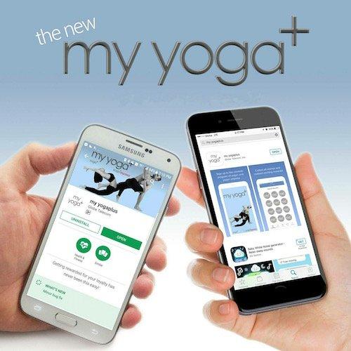 Download yoga+ App